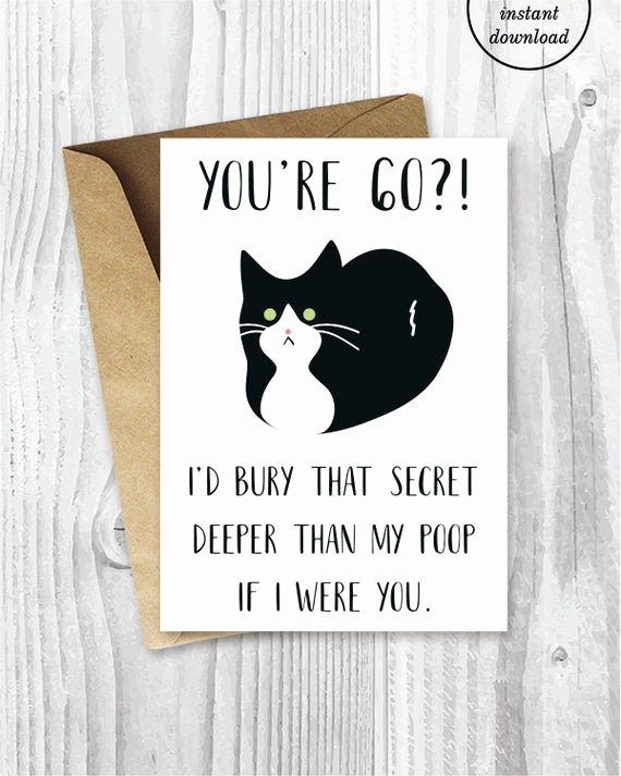 Funny Birthday Cards Printable New Printable 60th Birthday Cards Funny Tuxedo Cat 60 Birthday