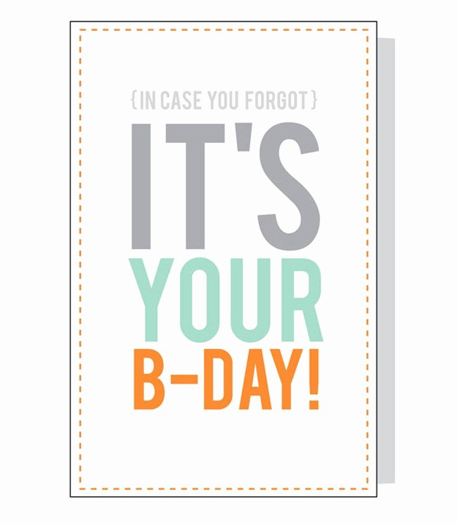 Funny Birthday Cards Printable Unique 8 Free Birthday Card Printables