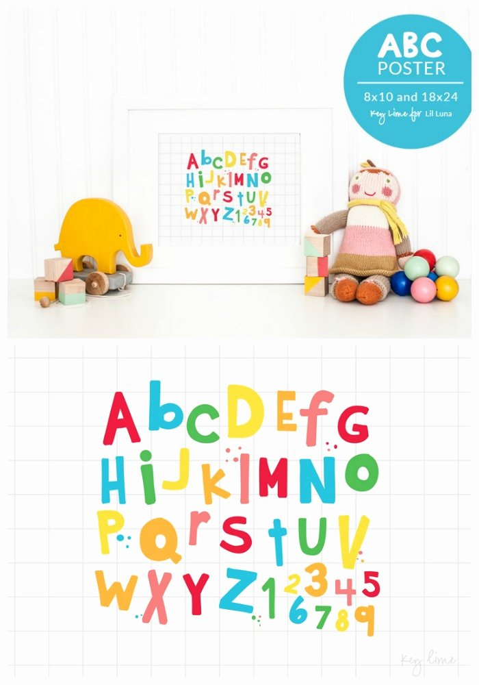Funny Posters for Kids New Abc Kids Poster