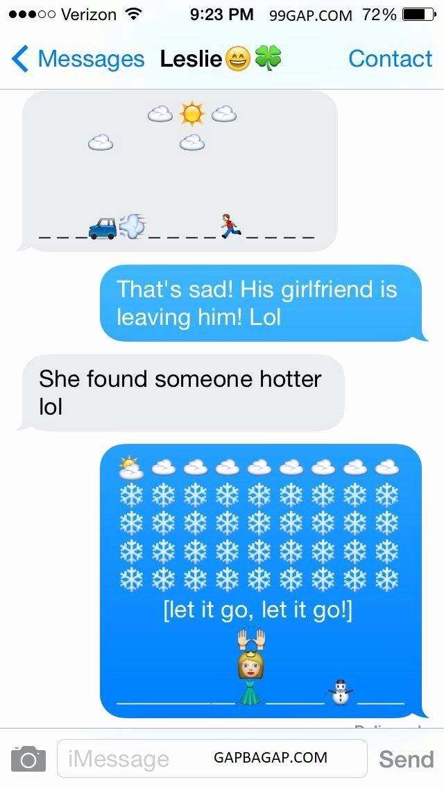 Funny Text with Emojis Awesome Hilarious Emoji Text Message – 99gap