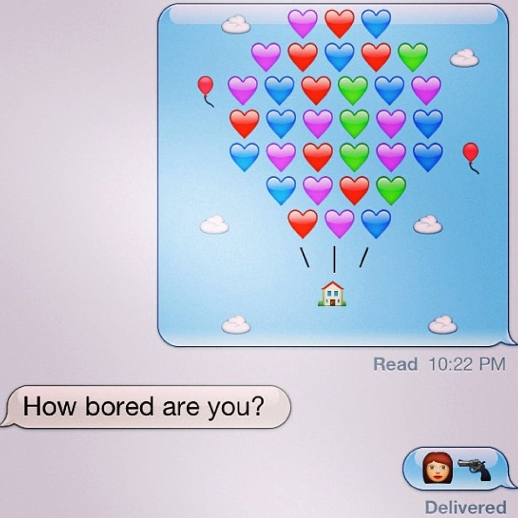 Funny Text with Emojis Fresh Cute Emoji 26 Funny Use Of Emojis to Impress Your Friends