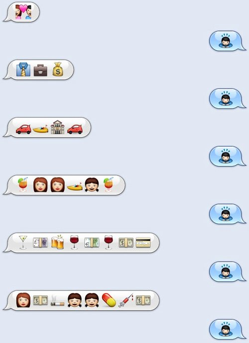 Funny Text with Emojis New 23 Clever and Funny Use Of Emojis Hongkiat