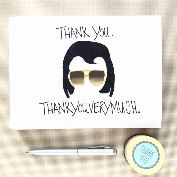 Funny Thank You Messages Awesome Funny Thank You Notes Set Thank You Note by Debbiedrawsfunny