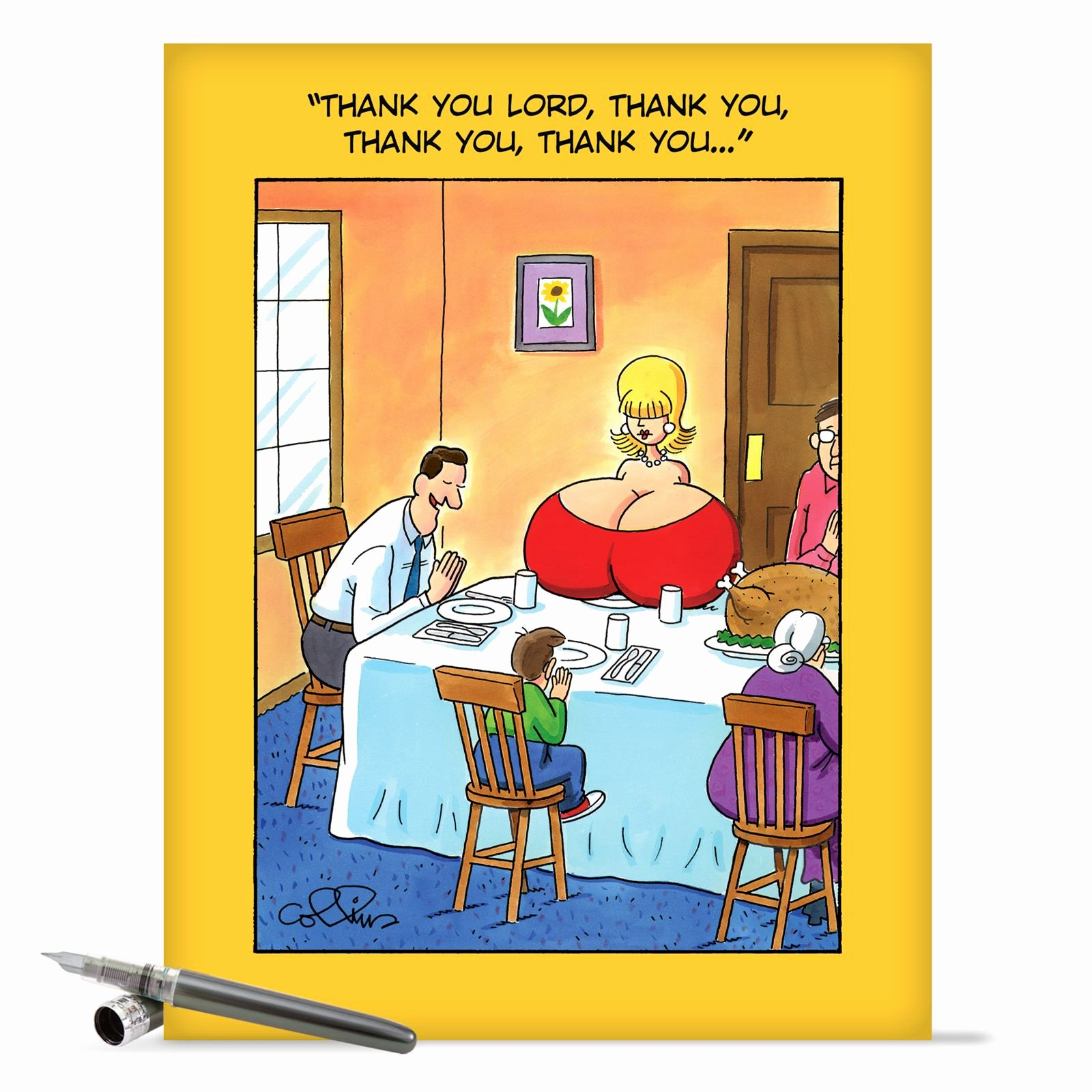 Funny Thank You Messages Best Of J8420 Jumbo Funny Birthday Card Thank You Lord with