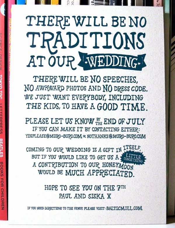 Funny Wedding Invitation for Friends Beautiful A Showcase Of Creative Wedding Invitations