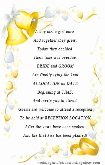 Funny Wedding Invitation for Friends Best Of Best 25 Unique Wedding Invitation Wording Ideas On