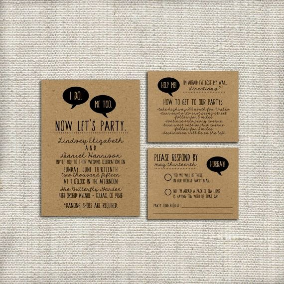 Funny Wedding Invitation for Friends Lovely Funny Wedding Invites are Remembered forever