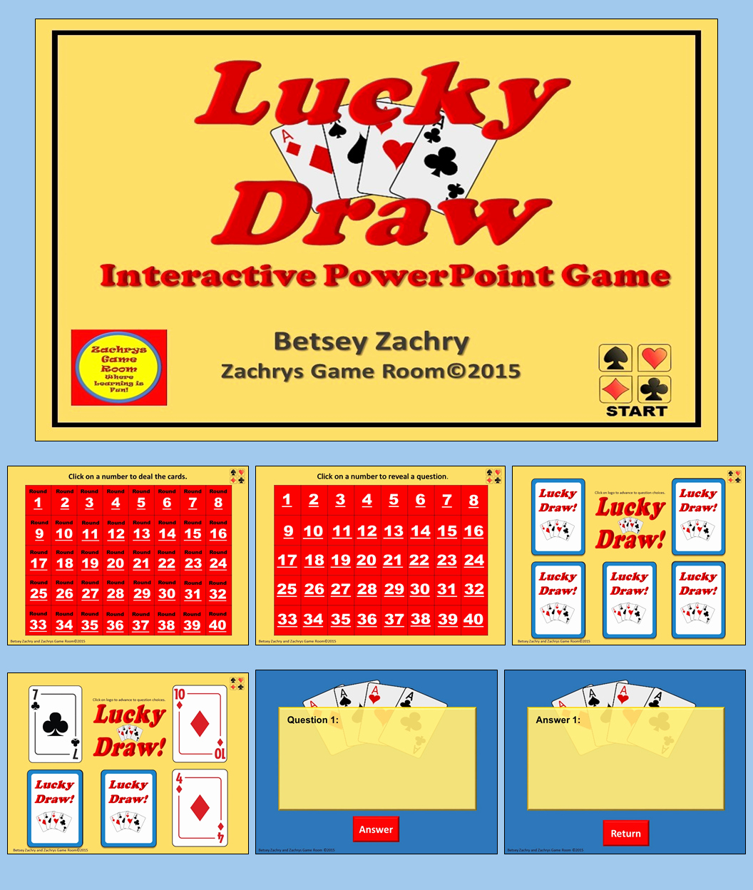 Game Templates for Teachers Awesome Powerpoint Game Template Lucky Draw Interactive Game