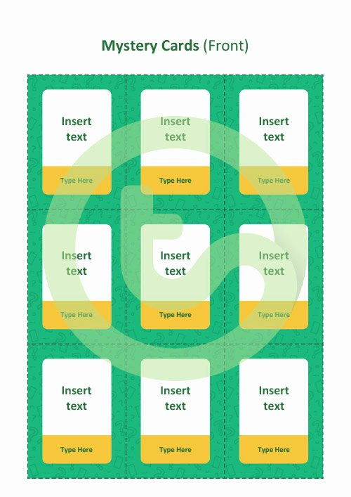 Game Templates for Teachers Lovely Editable What S My Card Board Game Template Teaching