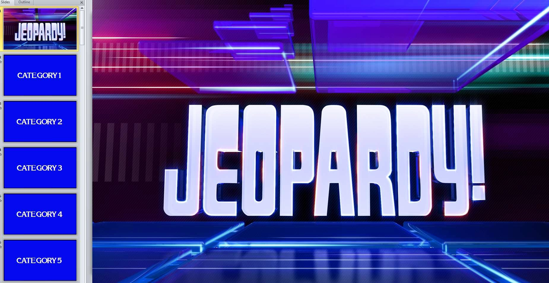 Game Templates for Teachers Unique 12 Free Jeopardy Templates for the Classroom