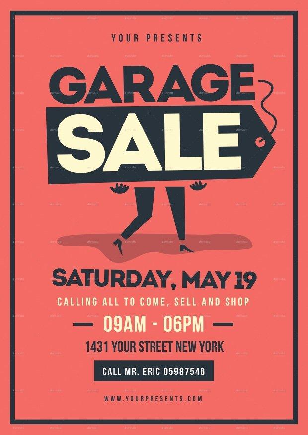 Garage Sale Flyer Template Beautiful 12 Garage Sale Flyer Templates Printable Psd Ai