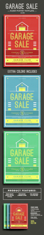 Garage Sale Flyer Template Fresh Garage Sale Flyer