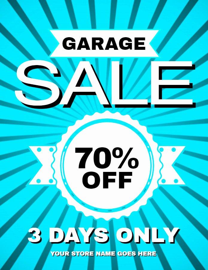 Garage Sale Flyer Template Unique New Flyer Templates for Spring & Garage Sales