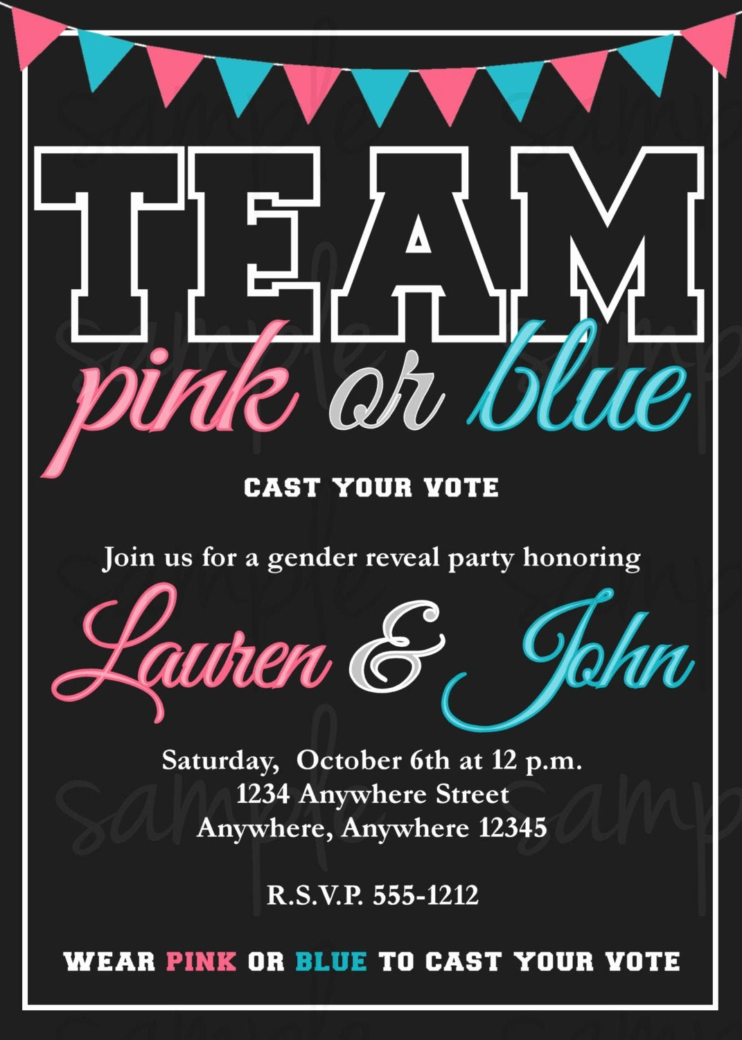 Gender Reveal Invitation Ideas Fresh Gender Reveal Invitation
