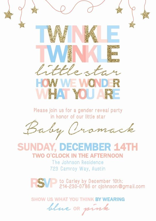 Gender Reveal Invitation Ideas Inspirational Best 25 Gender Reveal Invitations Ideas On Pinterest
