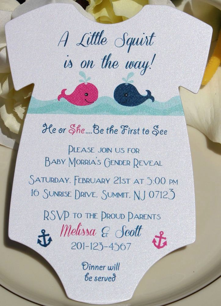 Gender Reveal Invitation Ideas Lovely Best 25 Gender Reveal Invitations Ideas On Pinterest