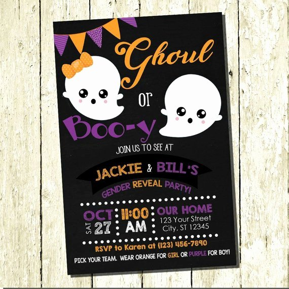 Gender Reveal Invitation Ideas New 9 Fall Gender Reveal Ideas Guests Will Love