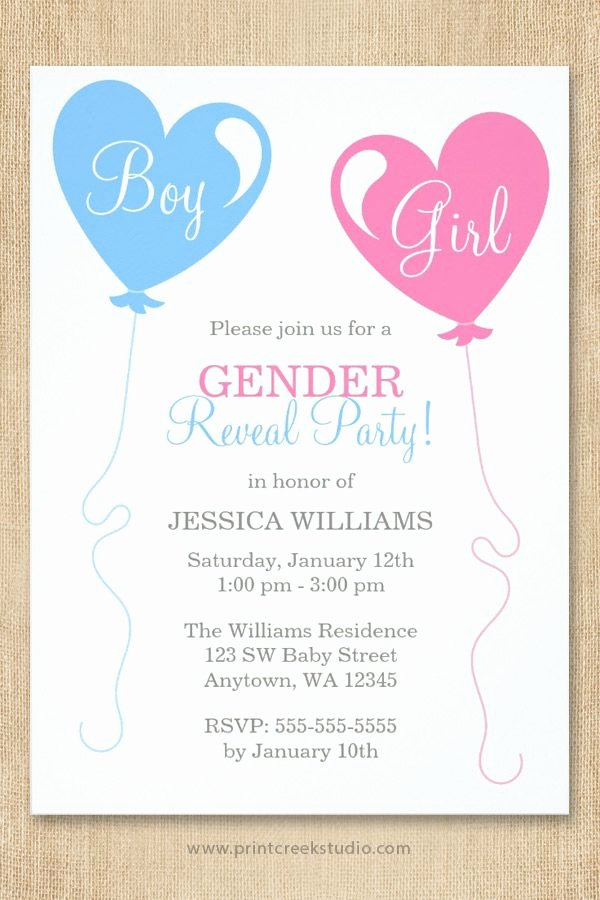 Gender Reveal Invitation Ideas Unique Best 25 Gender Reveal Invitations Ideas On Pinterest