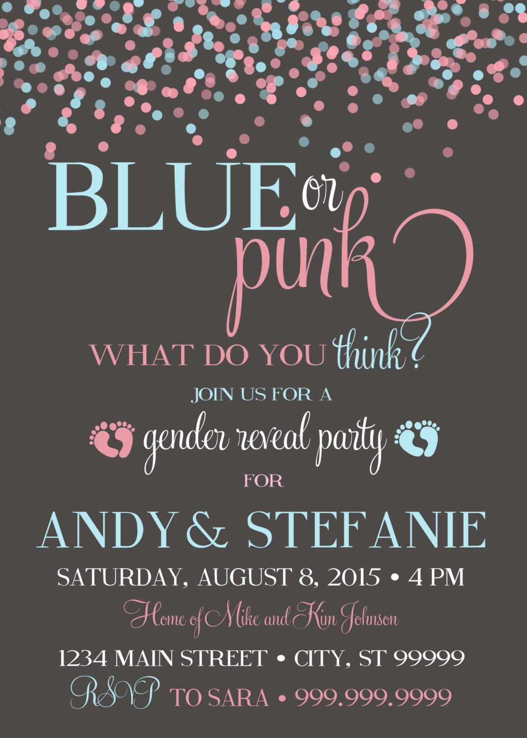Gender Reveal Party Invitation Ideas Beautiful 10 Baby Gender Reveal Party Ideas