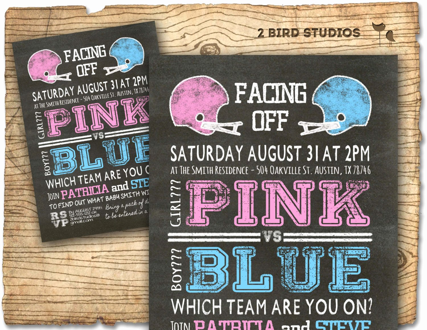 Gender Reveal Party Invitation Ideas Inspirational Football Gender Reveal Invitation Football Baby Shower Invite
