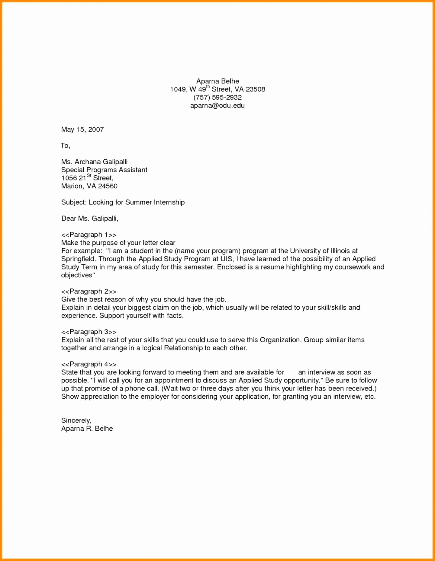 General Cover Letters for Jobs Elegant Tenant Guarantor Letter Template Examples
