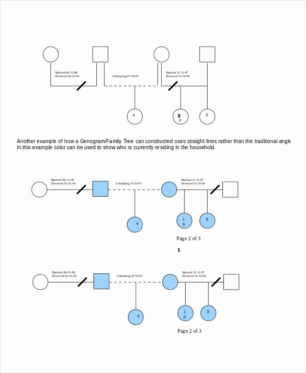Genogram Template Microsoft Word Fresh Genogram Template 16 Free Word Pdf Documents Download