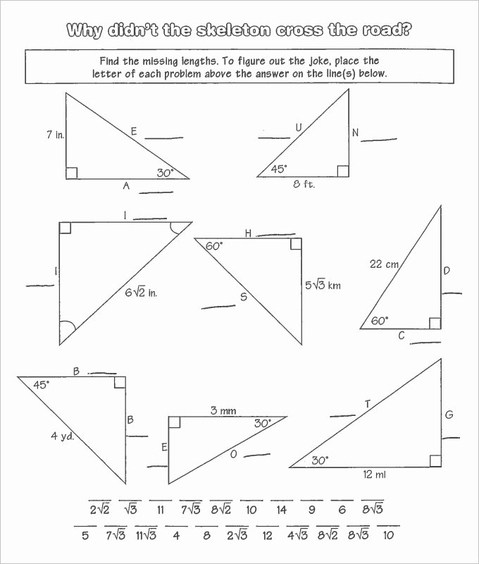 Geometry Worksheets High School Best Of 16 Sample High School Geometry Worksheet Templates
