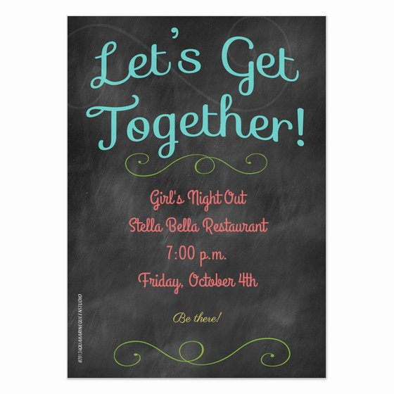 Get together Invitation Wording Samples Elegant Let S Get to Her Invitations & Cards On Pingg
