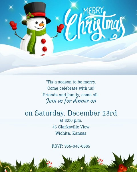 Get together Invitation Wording Samples Inspirational Christmas Invitation Template and Wording Ideas