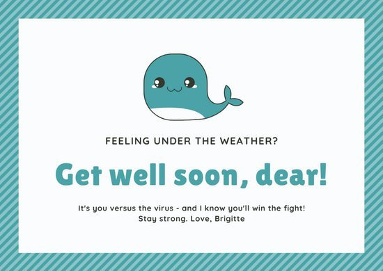 Get Well soon Cards Templates Fresh Customize 96 Get Well soon Card Templates Online Canva