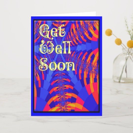 Get Well soon Cards Templates Luxury Get Well soon Card Template Card