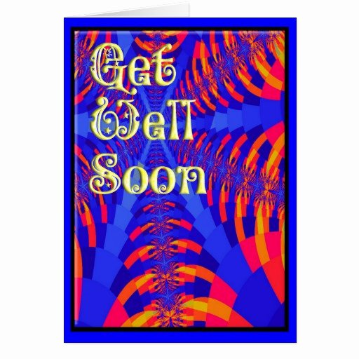 Get Well soon Cards Templates Luxury Get Well soon Card Template