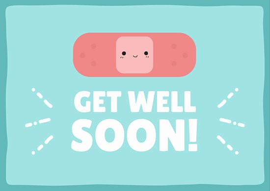 Get Well soon Cards Templates Luxury Get Well soon Card Templates by Canva