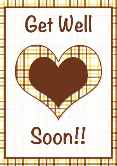 Get Well soon Cards Templates Luxury Printable Get Well Cards