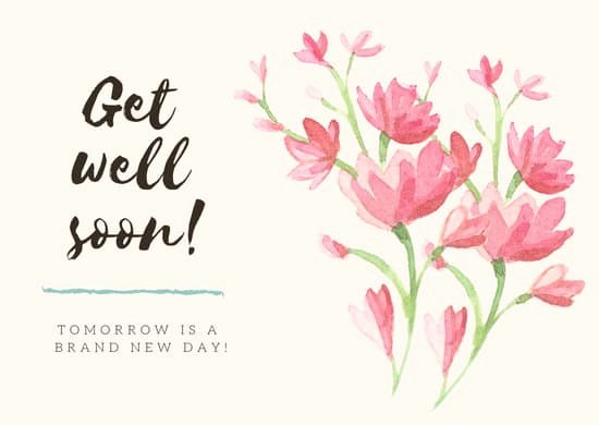 Get Well soon Cards Templates Unique Red Flowers Get Well soon Card Templates by Canva