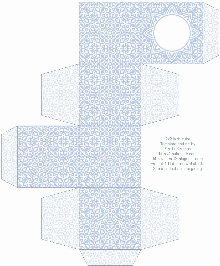 Gift Box Template Printable Best Of Lace Pattern Free Box Templates to Print for T Boxes