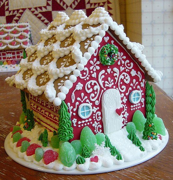 Ginger Bread House Patterns Elegant Dishfunctional Designs Gingerbread House Inspiration