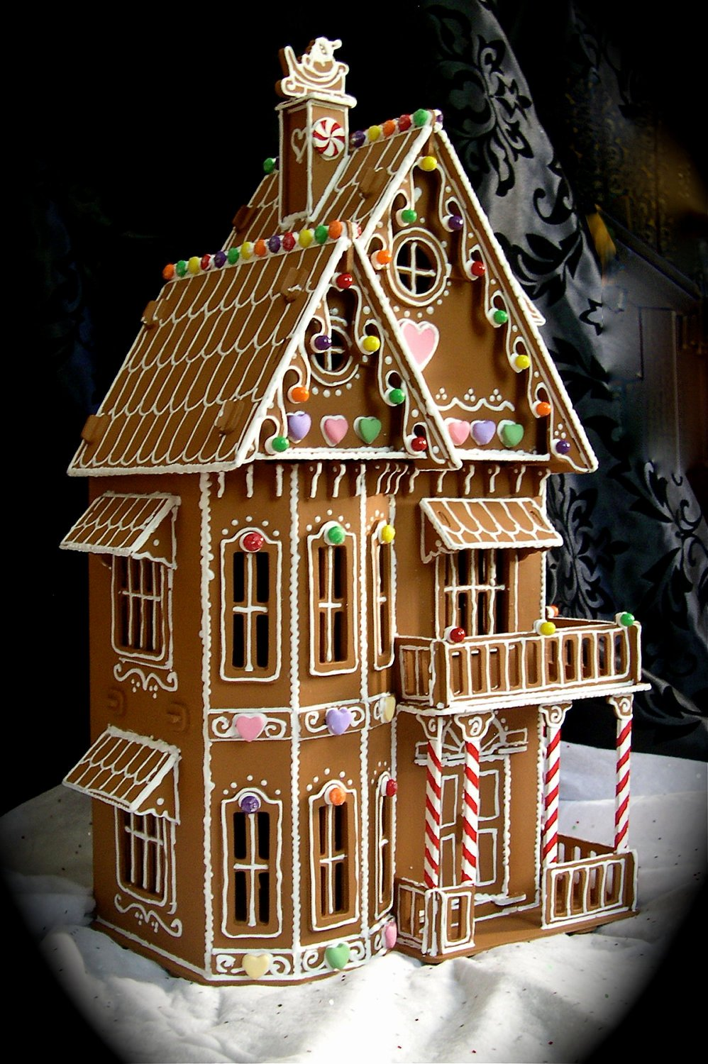 Ginger Bread House Patterns Elegant Faux Gingerbread House In the Victorian Style