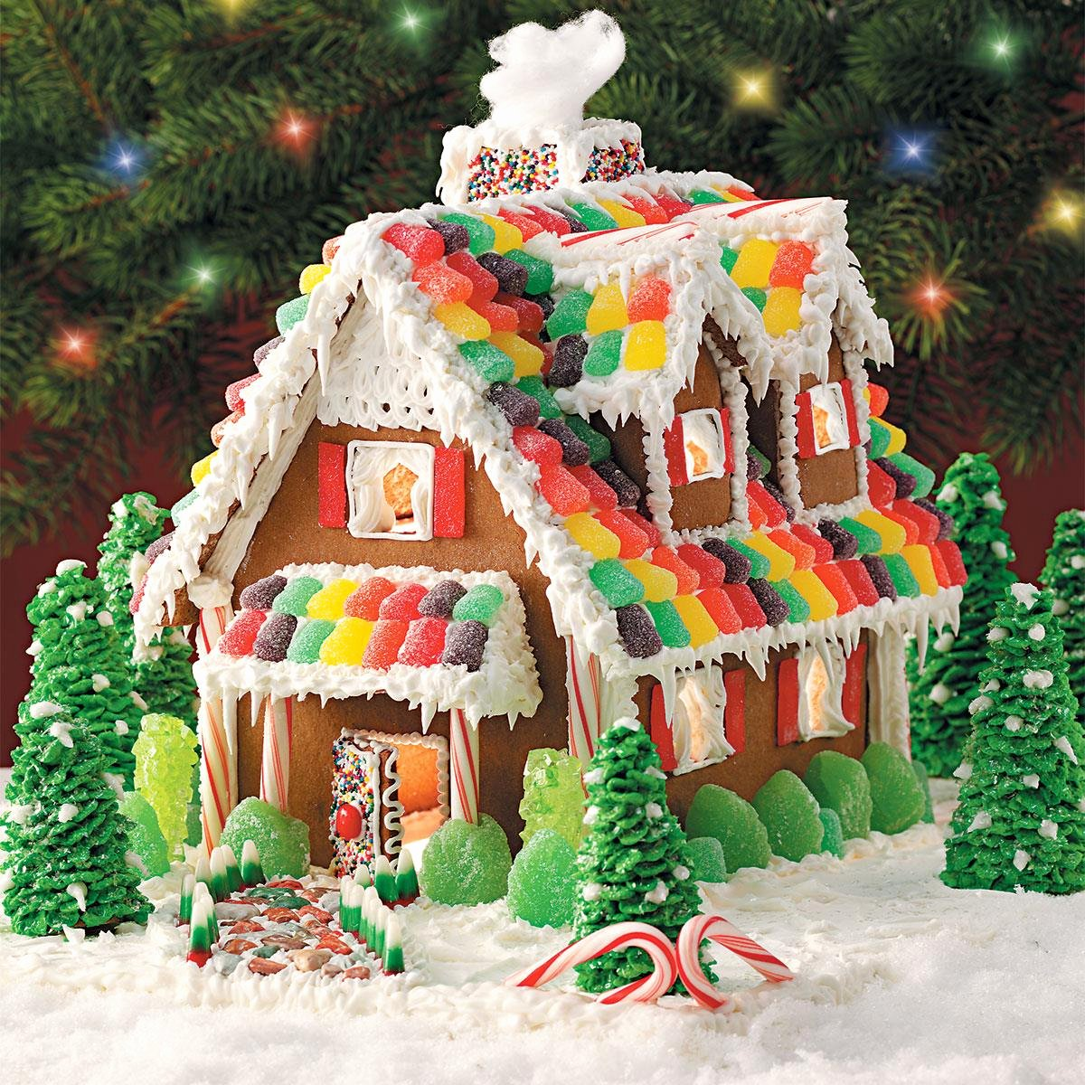 Ginger Bread House Patterns Fresh Gingerbread Christmas Cottage Recipe
