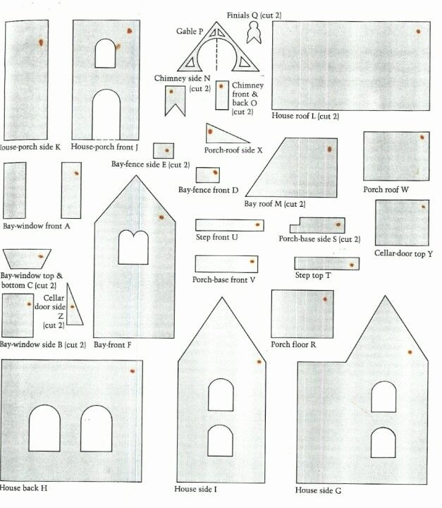 Ginger Bread House Patterns Lovely Best 25 Gingerbread House Template Ideas On Pinterest