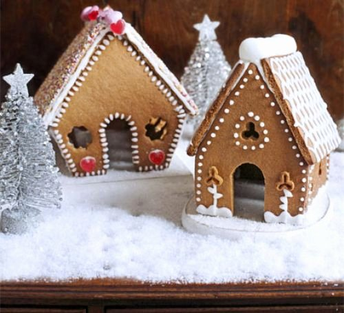 Ginger Bread House Patterns Lovely Mini Gingerbread Houses Recipe