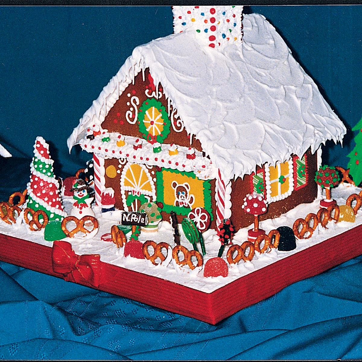 Ginger Bread House Patterns Luxury Gingerbread House Recipe