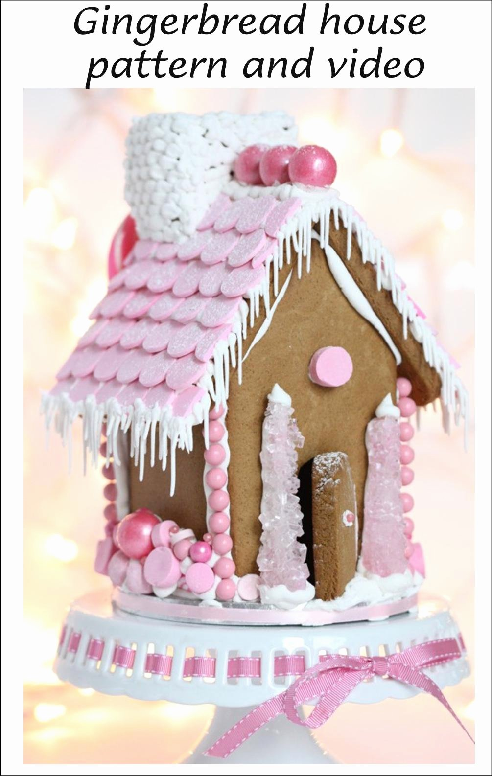 Ginger Bread House Patterns Luxury It S Written On the Wall Christmas Gingerbread Houses