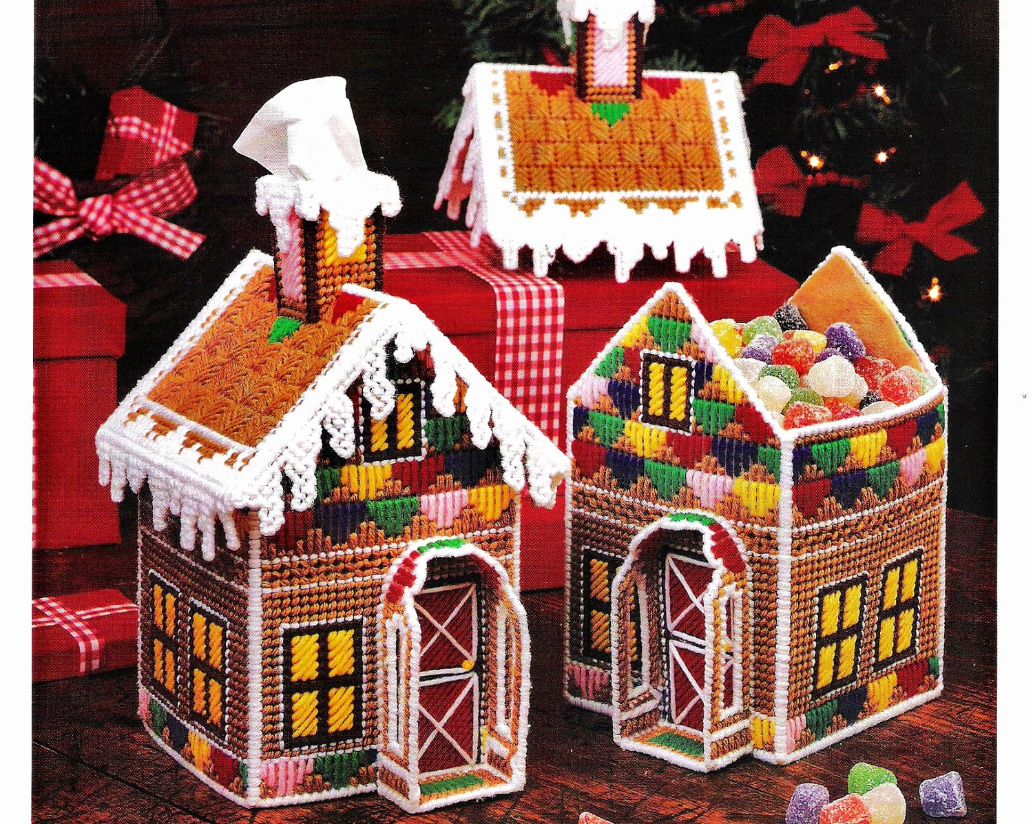 Ginger Bread House Patterns Luxury Plastic Canvas Gingerbread House Pattern by Stitchyspot On