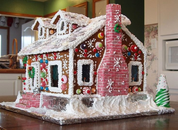 Ginger Bread House Patterns New 25 Unique Gingerbread House Template Ideas On Pinterest