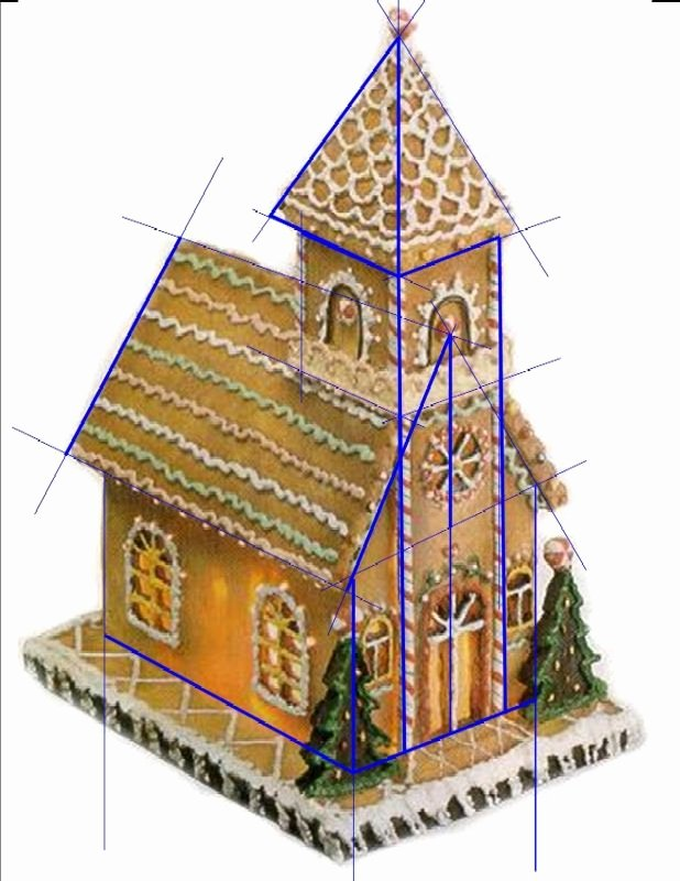 Ginger Bread House Patterns New Best 25 Gingerbread House Template Ideas On Pinterest