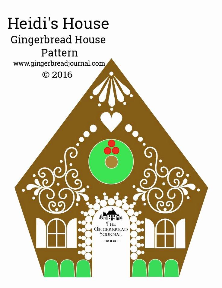 Ginger Bread House Patterns Unique Best 25 Gingerbread House Patterns Ideas On Pinterest