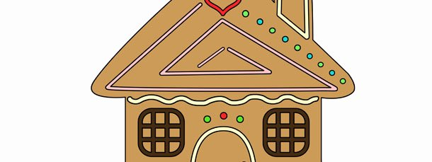 Gingerbread House Cut Out Inspirational Gingerbread House Cut Out –