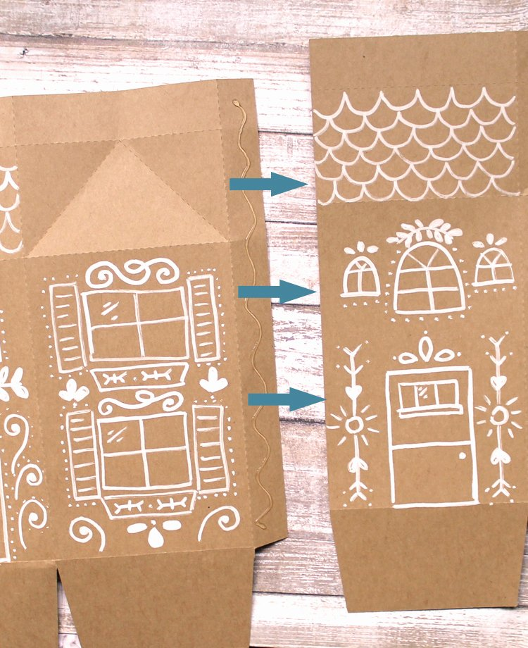 Gingerbread House Cut Out Lovely the Craft Patch Gingerbread House Treat Box Free