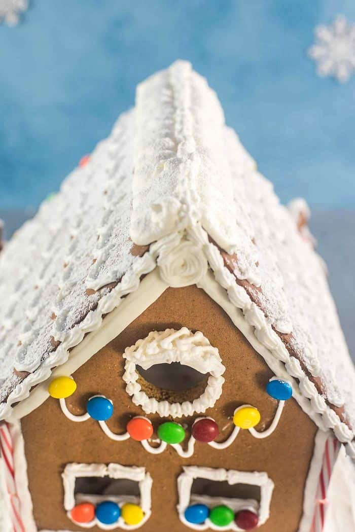 Gingerbread House Cut Out Luxury Gingerbread House Recipe & Template the Flavor Bender
